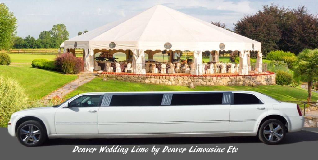 denver wedding limousine