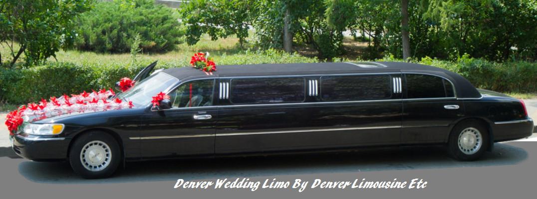 wedding limo service - denver limousine etc